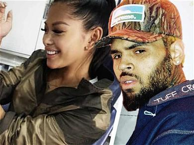 Chris Brown's Baby Mama Inks Son's Name With Sweet Wrist Tattoo!