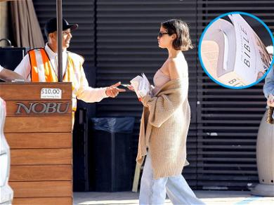 Oh, Lawd! Selena Gomez Brings Her Bible to Lunch