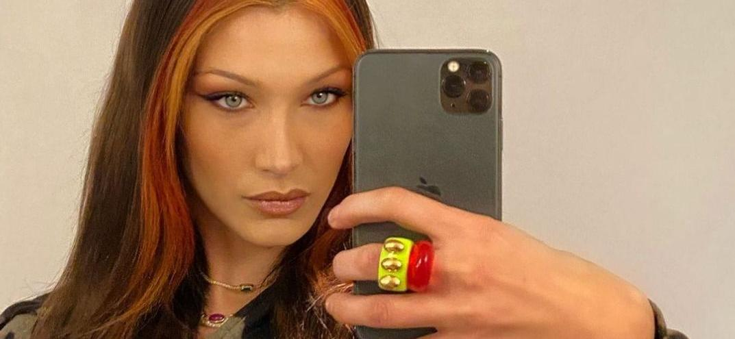 Bella Hadid Strips Bottomless In Never Before Seen Picture On Instagram!