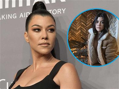 Kourtney Kardashian Poses Nude In Ridiculously Expensive Coat: 'Chestnuts Roasting On An Open Fire'