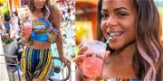 Christina Milian Partied from AM to PM in Vegas this Weekend