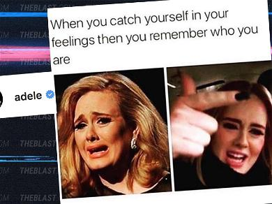Adele Channels Drake In Hilarious First Social Media Post Since Split With Husband