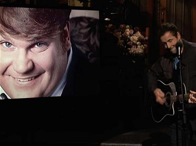 Adam Sandler Sings Emotional Song on 'SNL' About the Late Chris Farley