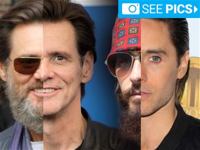 Hair Today … Former Scruffy Celebs Honored On 'No Beard Day'