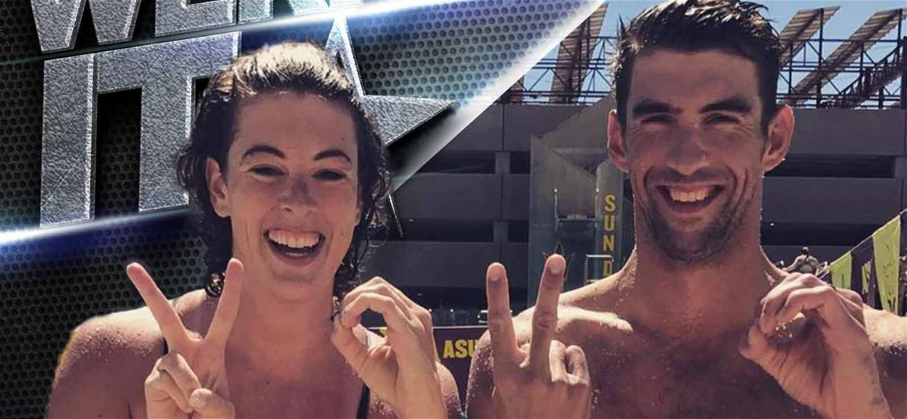 Michael Phelps Toys With Our Olympic Dreams