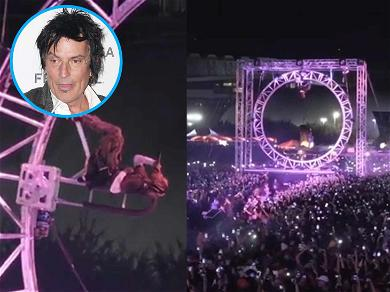 Tommy Lee Calls Travis Scott a 'F***ing Idiot' for Allegedly Ripping Off Stage Designs