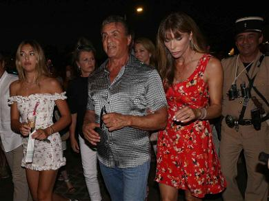 Sylvester Stallone and His Beautiful Family Live Their Best Life on St. Tropez Vacation