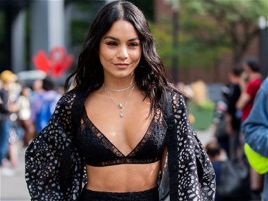Vanessa Hudgens Sparks Instagram Frenzy With Exposing Topless Snap To 'Conclude Thirsty Thursday'