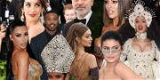 Stars Go for Gold at the 2018 Met Gala