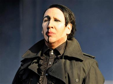 Marilyn Manson Collapses On Stage After Complaining of 'Heat Poisoning'