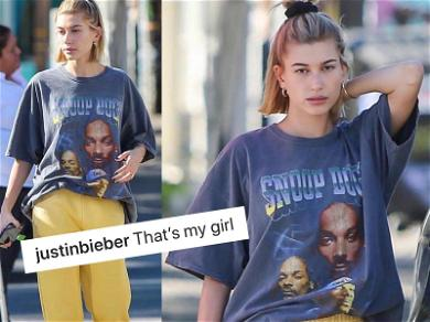 Justin Bieber Reminds Snoop Dogg 'That's My Girl' After He Spits Game at Hailey Bieber