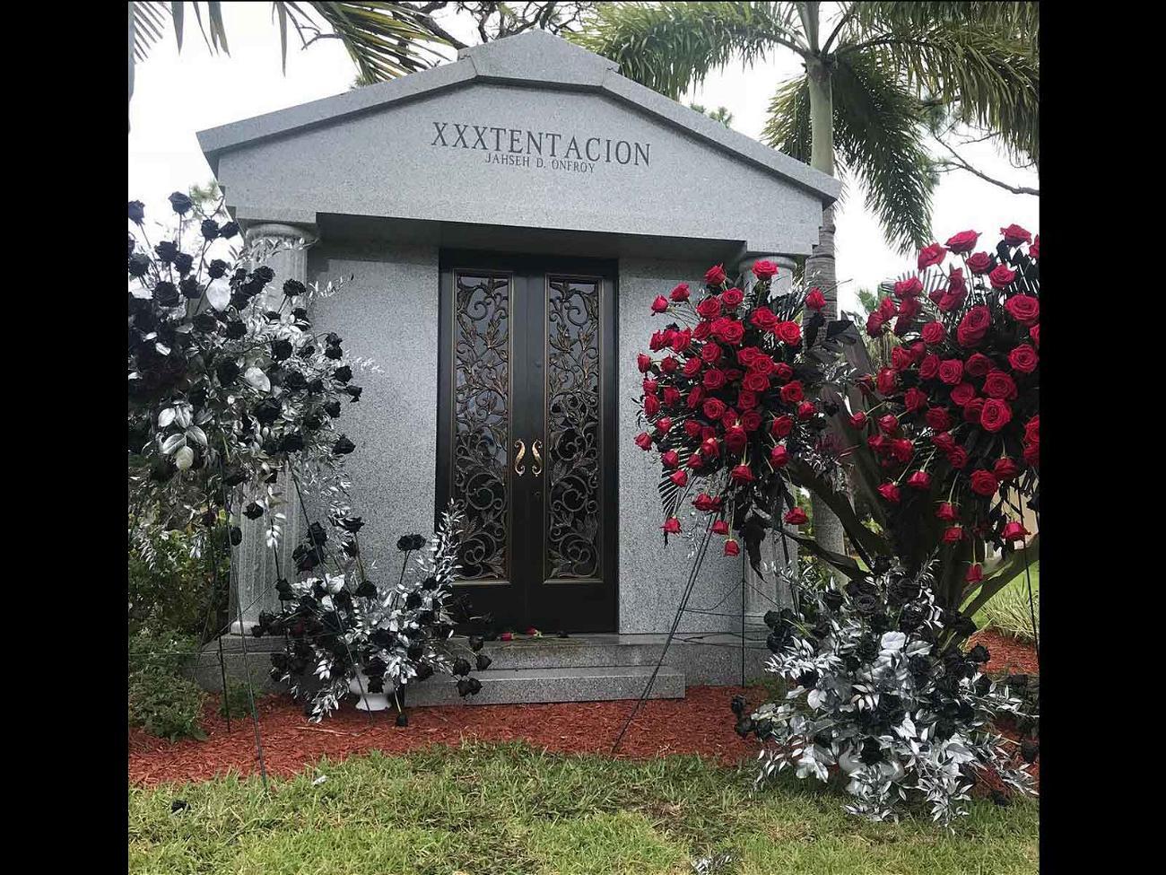 XXXTentacion's mausoleum