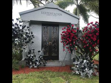 XXXTentacion's Mother Shows Off His Final Resting Place: 'My Guardian Angel'