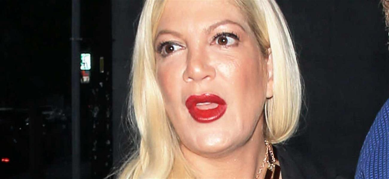 Tori Spelling's Nanny Gets Served at L.A. Mansion Over Actress' Unpaid Debt
