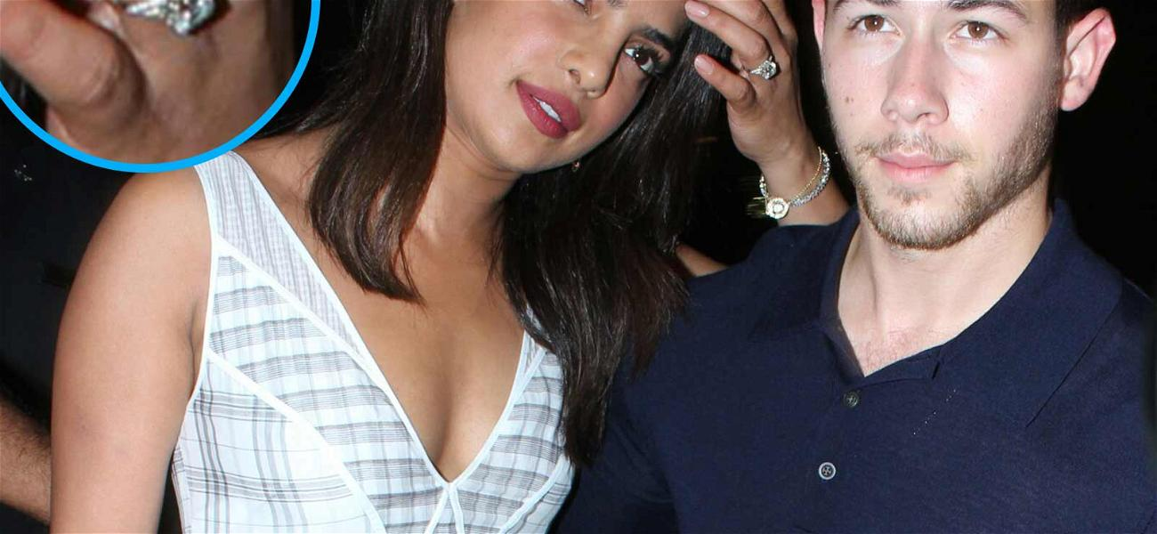 Priyanka Chopra Wears Engagement Ring During Date Night in India With Nick Jonas