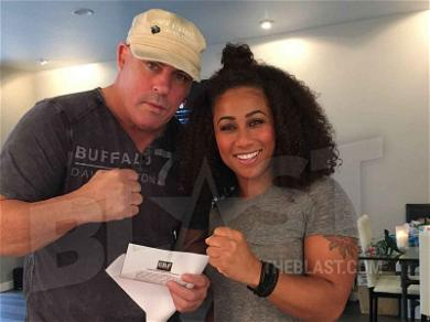 Nicole 'Hoopz' Alexander Officially Inks Contract to Box Farrah Abraham