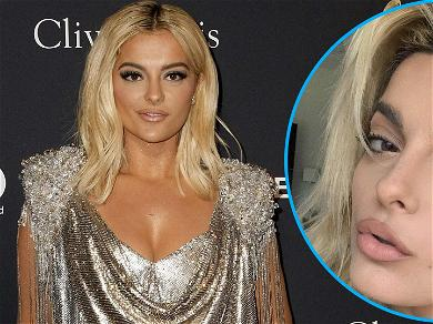 Brow Down To Bebe Rexha's Makeup Selfie With '80s Inspired Eyebrows