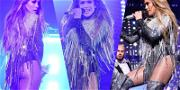 JLo Sizzles With Sultry Performance For Charity While Oprah and Jerry Seinfeld Watch