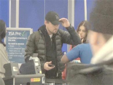 Leo DiCaprio Forced to Reveal His Face to TSA Agent