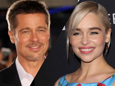 Brad Pitt Bid $120k to Watch 'Game of Thrones' with Emilia Clarke … and Lost!