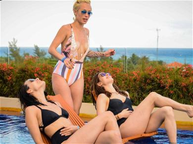 'Chicago Med' and 'P.D.' Stars Torrey DeVitto and Marina Squerciati Shed Uniforms For Bikinis in Mexico