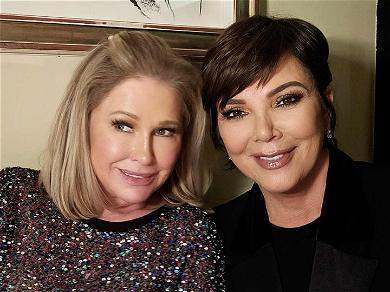 Kathy Hilton & Kris Jenner Labeled 'Mom Goals' at Hotel Matriarch's 60th Birthday
