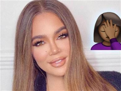 Khloe Kardashian Facing Backlash For Using Black Skin Tone Emoji