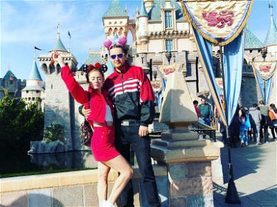 Billie Lourde Spends Disney Day With Ex-Boyfriend