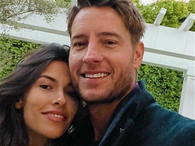 Justin Hartley & Girlfriend Sofia Pernas Engaged!? Wedding Bands At MTV!