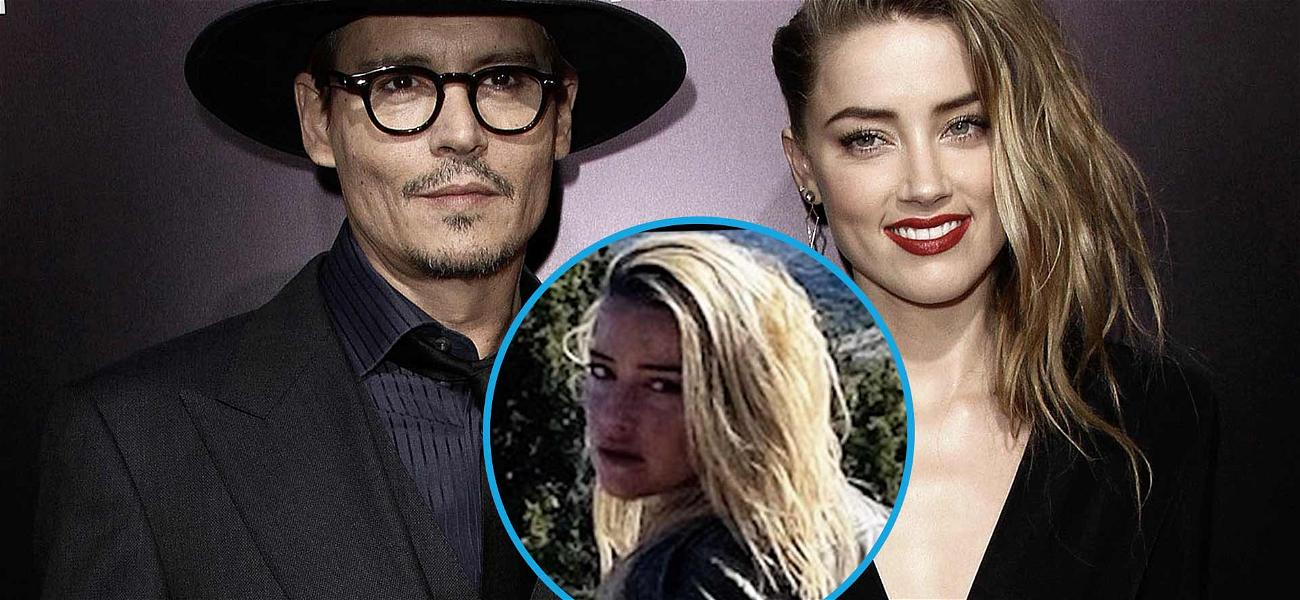 Amber Heard Puts Johnny Depp Drama In Her Rear View With 'Happy Place' Snap