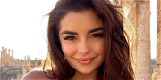 Demi Rose Flaunts Floatation Devices While Swimming With Dolphins
