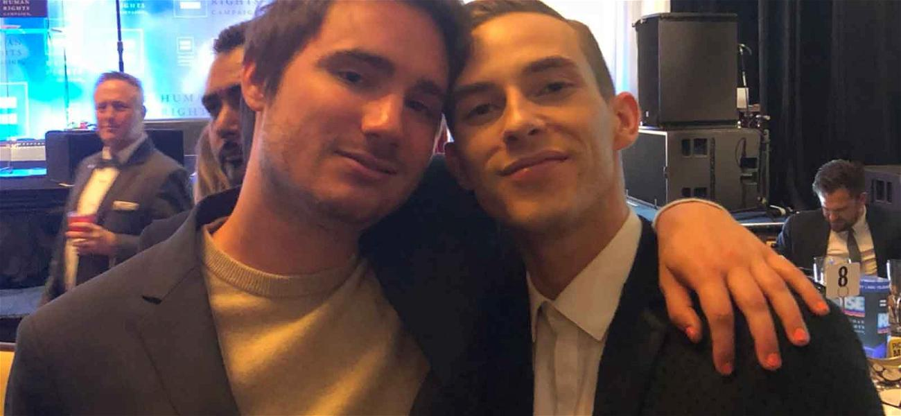 Sally Field's Son Fulfills Olympic Dream, Meets Adam Rippon