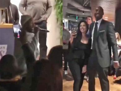 Kobe and Vanessa Bryant Groove to Kendrick Lamar Before Jersey Retirement