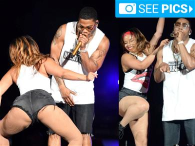 Nelly Brings Booty Shaker Onstage Hours After Rape Accuser Refuses to Testify