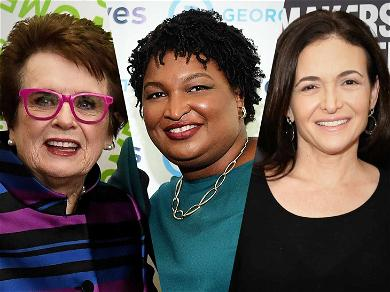 Facebook's Sheryl Sandberg 'Leans In' With Billie Jean King to Give Last Minute Push for Georgia's Stacey Abrams