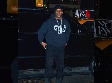 DMX All Smiles in NYC After Announcing 20th Anniversary Tour