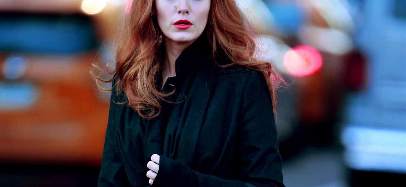 Gettin' Wiggy With It! Blake Lively Dons Vintage Red Hair for 'The Rhythm Section'