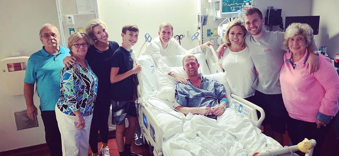 Todd Chrisley's Son Surrounded By Family in Hospital: 'Not Today, Satan'