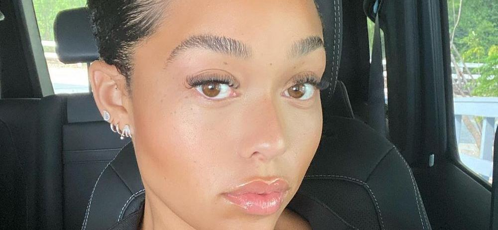 Jordyn Woods Earns '10/10′ In Skimpy Towel For Old Spice Ad