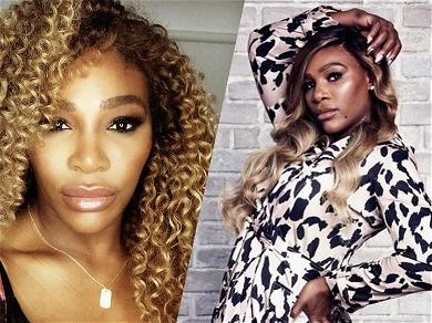 Serena Williams Shows She's Boss With Killer Curves In Skin-Tight Dress