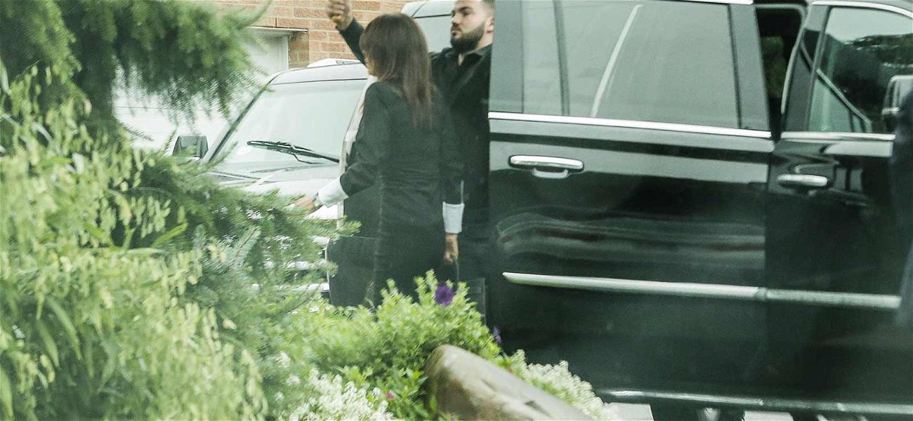 'RHONY' Bethenny Frankel Draped in Black as She Arrives at Funeral for Dead Ex-BF