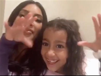 Kim Kardashian Loses Control Of Her Chaotic Kids In Rare Home Video