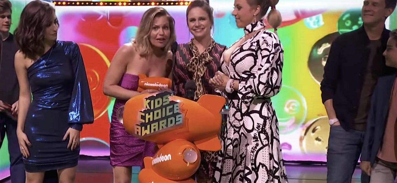 'Fuller House' Cast Seems to Reference Lori Loughlin Scandal at Kids' Choice Awards
