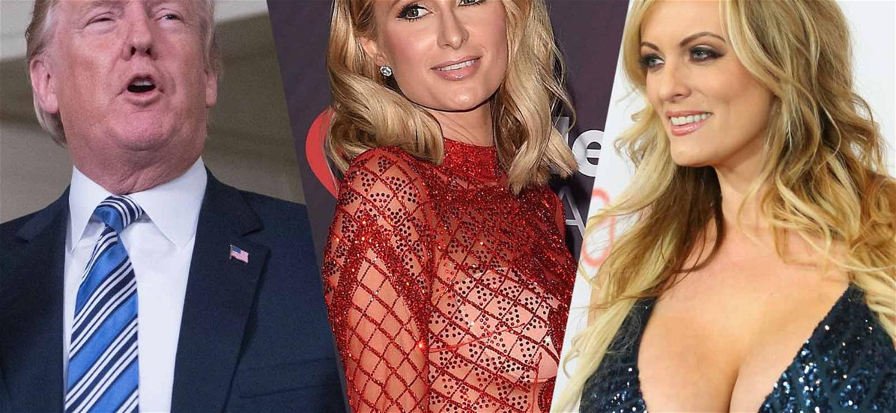 Donald Trump Uses Paris Hilton To Argue Point In Stormy Daniels Fight