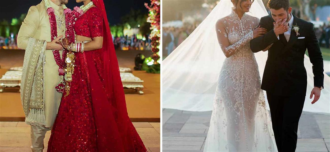 Nick Jonas & Priyanka Chopra Share Wedding Looks from Both Hindu/Christian Ceremonies