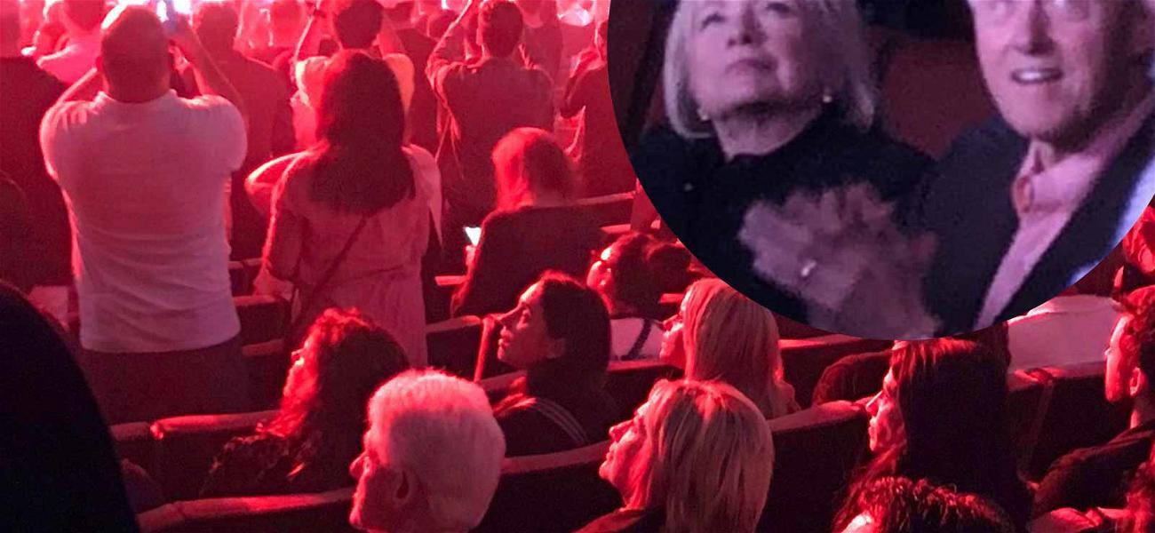 Hillary & Bill Clinton Enjoy Christina Aguilera's Concert Exactly How You'd Expect