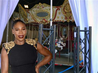 Serena Williams Dropped Over $25,000 On Wedding Carousel