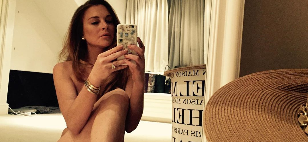 Lindsay Lohan Strips Down to Her Birthday Suit On 33rd Bday
