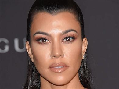 Kourtney Kardashian Shares Extra-Terrestrial Utah Vacation Pics