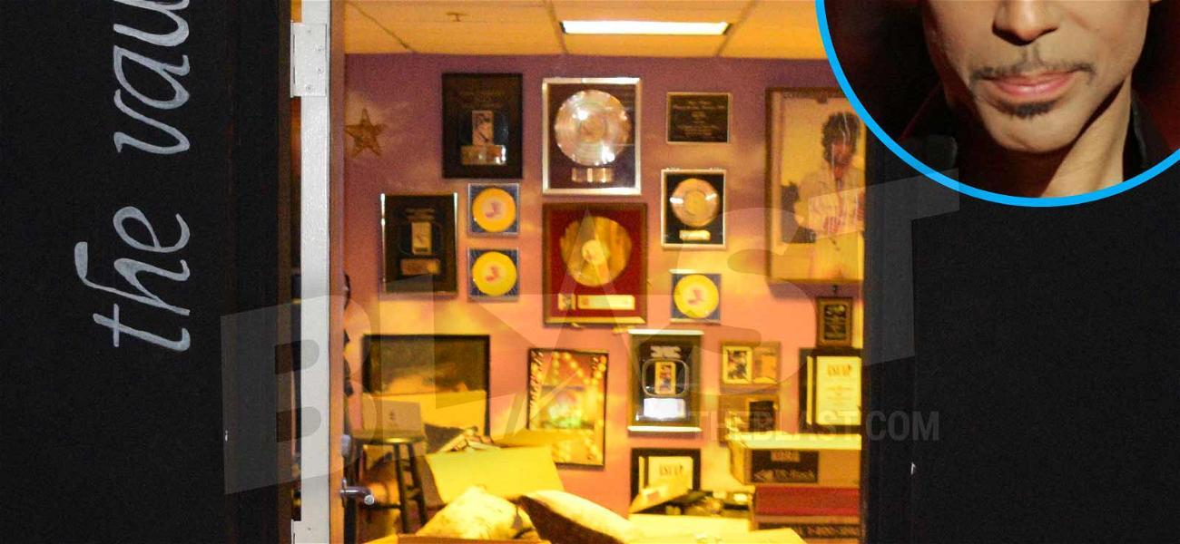 Prince's Vault Was Actually Behind a Vault Door, in a Room Called 'The Vault'